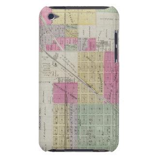 Mapa de la ciudad de Osage, Kansas Barely There iPod Coberturas