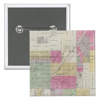Mapa de la ciudad de Osage, Kansas Pin