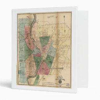 """Mapa de la ciudad de Rochester Nueva York (1879) Carpeta 1"""""""