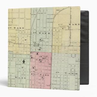 """Mapa de la ciudad de Springfield Carpeta 1 1/2"""""""