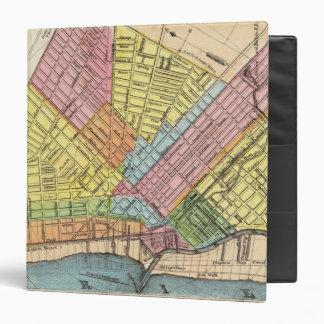 """Mapa de la ciudad del búfalo carpeta 1 1/2"""""""