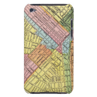 Mapa de la ciudad del búfalo Case-Mate iPod touch cárcasa