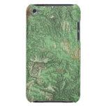 Mapa de la clasificación de tierra de California iPod Case-Mate Cárcasas