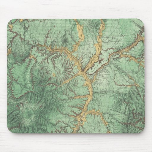 Mapa de la clasificación de tierra de New México 2 Mouse Pad