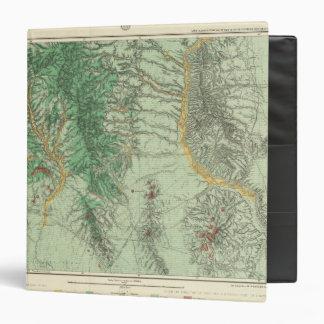 """Mapa de la clasificación de tierra de New México a Carpeta 1 1/2"""""""