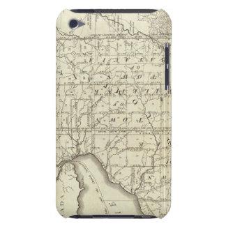 Mapa de la compra o de Geneseo del oeste de Morris iPod Case-Mate Cárcasa