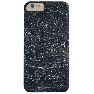Mapa de la constelación del vintage funda barely there iPhone 6 plus