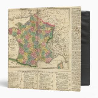 Mapa de la cronología de Francia