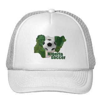 Mapa de la cultura del fútbol de Nigeria de los re Gorro De Camionero