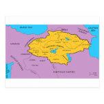 Mapa de la dinastía de Arsacid/de Arshakuni Tarjeta Postal