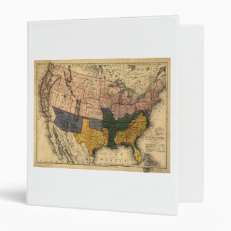 "Mapa de la era de la guerra civil de los Estados Carpeta 1"""