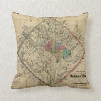 Mapa de la era de la guerra civil del distrito de  almohada