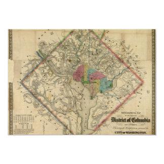 Mapa de la era de la guerra civil del distrito de anuncios personalizados
