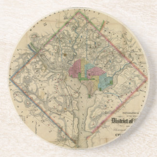 Mapa de la era de la guerra civil del distrito de  posavasos manualidades