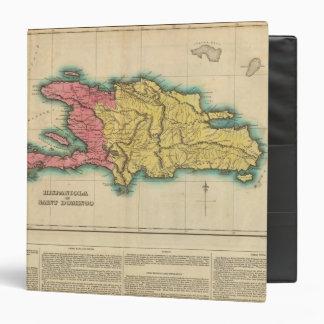 """Mapa de La Española, o St Domingo Carpeta 1 1/2"""""""