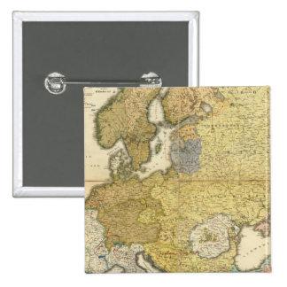 Mapa de la etnografía de Europa Pins