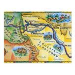 Mapa de la expedición de Lewis y de Clark Postal