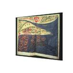 Mapa de la exploración de Surat Impresión En Lienzo