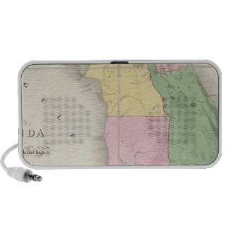 Mapa de la Florida 2 Notebook Altavoz