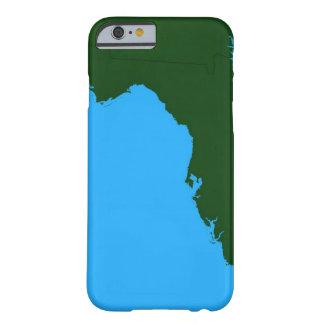 Mapa de la Florida 2 Funda Para iPhone 6 Barely There
