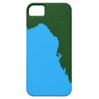 Mapa de la Florida 2 iPhone 5 Carcasa