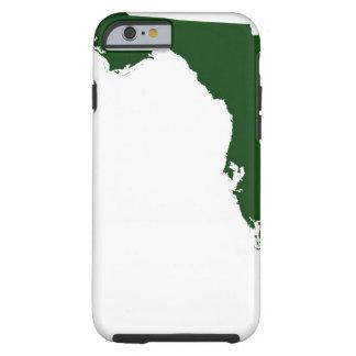 Mapa de la Florida 3 Funda De iPhone 6 Tough