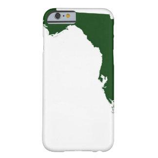 Mapa de la Florida 3 Funda Para iPhone 6 Barely There