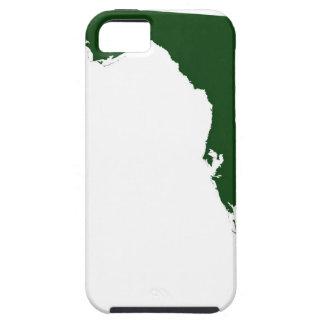 Mapa de la Florida 3 iPhone 5 Carcasas