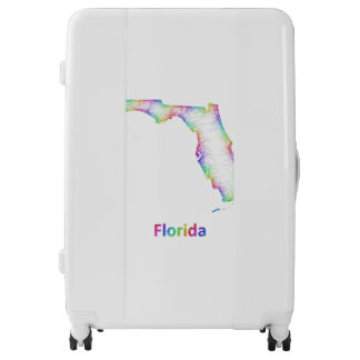 Mapa de la Florida del arco iris Maletas