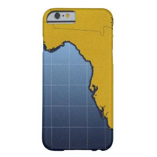 Mapa de la Florida Funda De iPhone 6 Barely There
