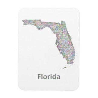 Mapa de la Florida Imán