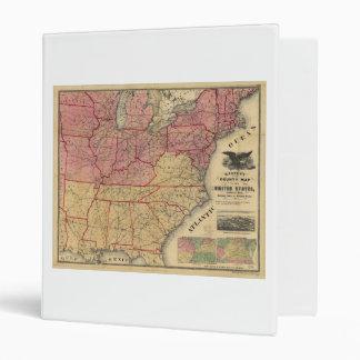 "Mapa de la guerra civil de Estados Unidos de Carpeta 1"""