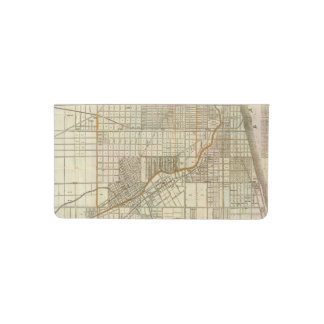 Mapa de la guía de Blanchard de Chicago 2