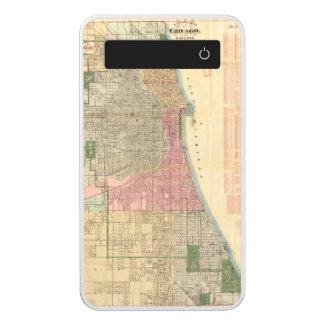 Mapa de la guía de Blanchard de Chicago 2 Batería Portátil