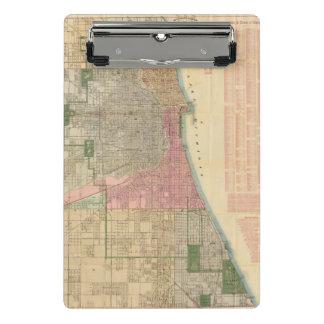 Mapa de la guía de Blanchard de Chicago 2 Minicarpeta De Pinza