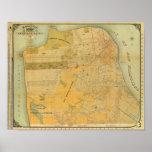 Mapa de la guía de Britton y de Rey Posters