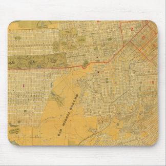 Mapa de la guía de Britton y de Rey Tapete De Ratones