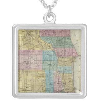 Mapa de la guía de Chicago Colgantes