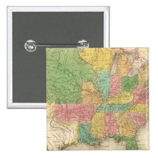 Mapa de la historia de los Estados Unidos de Améri Pins