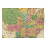 Mapa de la historia de los Estados Unidos de Améri Tarjetas