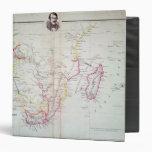 """Mapa de la ilustración de Suráfrica Carpeta 1 1/2"""""""