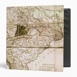 """Mapa de la India, 1803 Carpeta 1 1/2"""""""