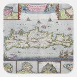 Mapa de la isla de Candia Colcomanias Cuadradases