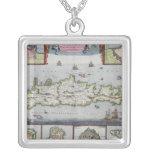 Mapa de la isla de Candia Colgante