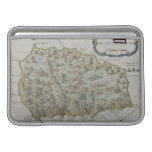 Mapa de la isla de St. Helena Fundas MacBook
