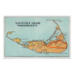 Mapa de la isla impresiones