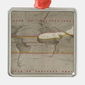 Mapa de la lluvia de Hyetographic Adorno De Reyes