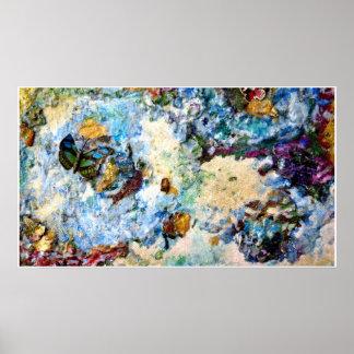 Mapa de la mariposa poster
