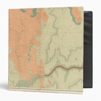 """Mapa de la mitad del sur de la meseta de Uinkaret Carpeta 1 1/2"""""""