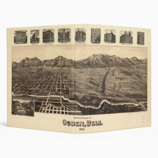 "Mapa de la perspectiva de Ogden Utah (1890) Carpeta 1"""